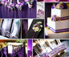 Wedding Decorations For A Purple Wedding
