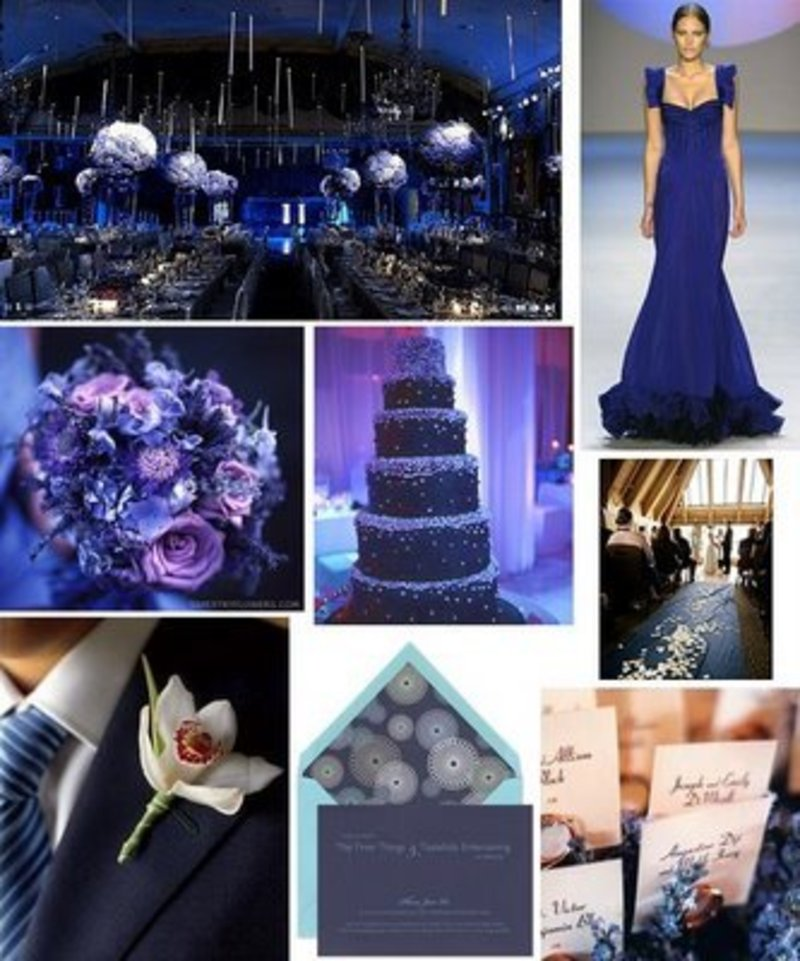 Purple Weddings Decorations Ideas / Design Bookmark #5835