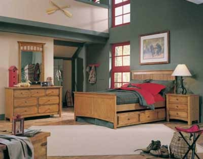 bedroom color schemes casual cottage