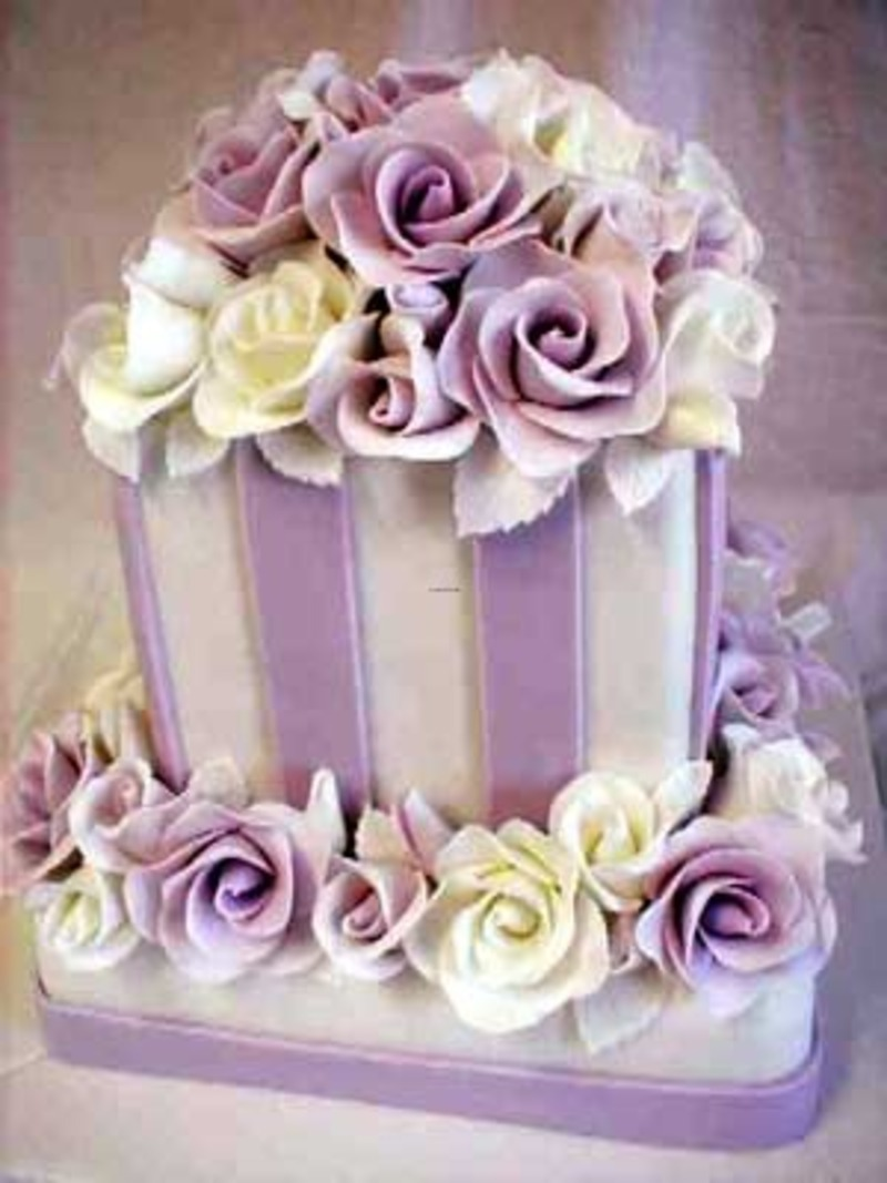Purple Wedding Decorations, Purple wedding flowers decorations pictures