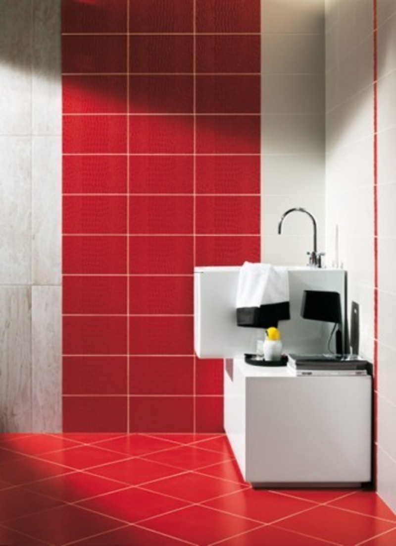 Modern Colorfull Bathroom Tiles Design Bookmark 5864