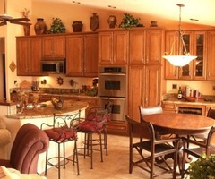 Unique Spanish Kitchen Cabinets Design Photo 
