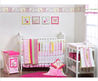 Bacati Girls Stripes and Plaids Crib Bedding Collection