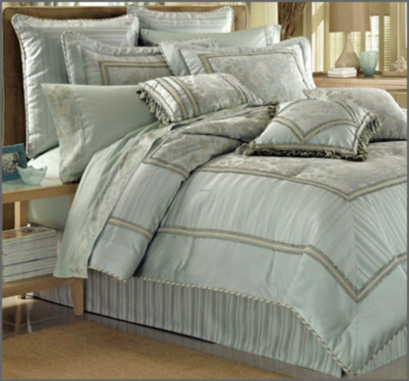 Bedding luxury bedding nfl bedding college dorm room for Bed and mattress set