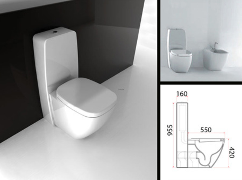Suppliers of designer close coupled toilets and cisterns with soft closing seats design - Toilet seats design ...