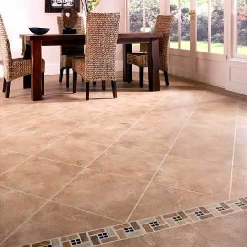 Kitchen floor tiles design bookmark 6008 for Tiling kitchen floor