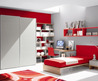 Modern small teen room design