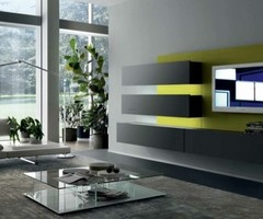 Wall Mounted TV Cabinet for Contemporary Living Spaces by MisuwaEmme