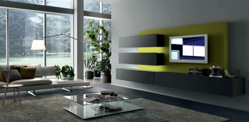 Wall Mount Tv Cabinets, Wall Mounted TV Cabinet for Contemporary Living Spaces by MisuwaEmme
