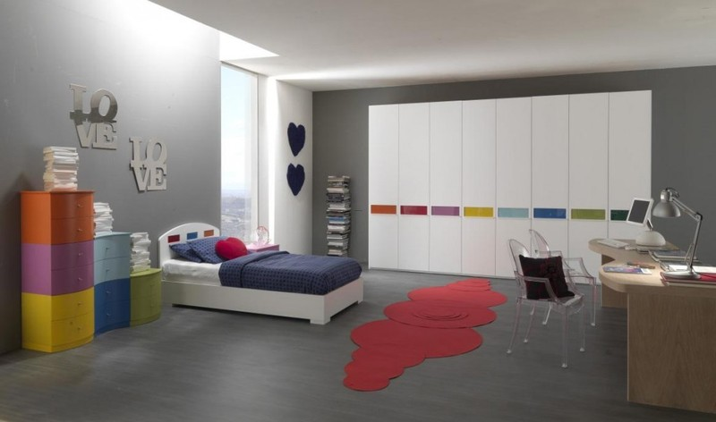 Teen Room Design Ideas, Decorating ideas for teen rooms with modern minimalist style