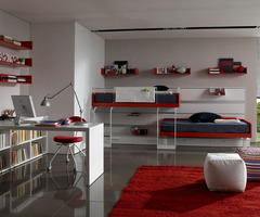 Furniture Design – bunk beds teen room : Best Home Interior Decorating Ideas, Architecture and Furniture – Online Interior Design