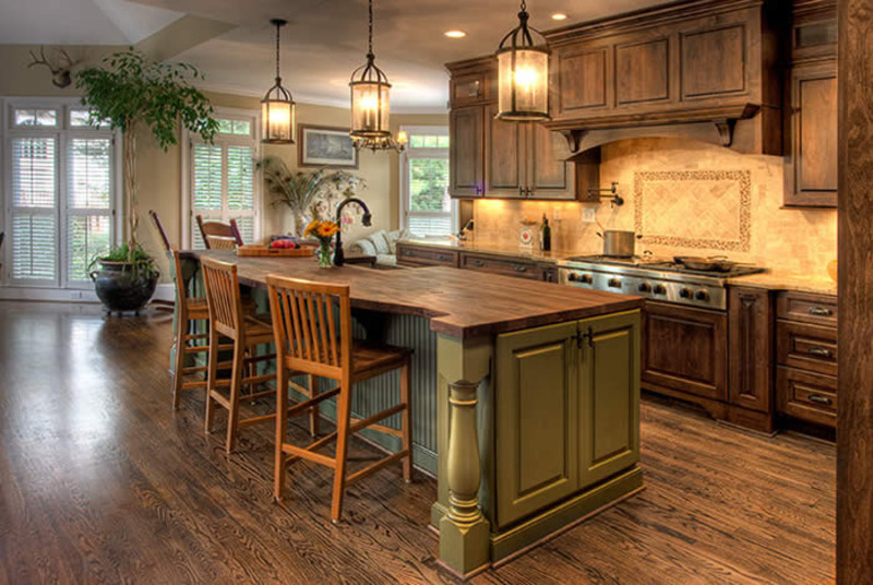 elegance french country kitchen home interior decorating