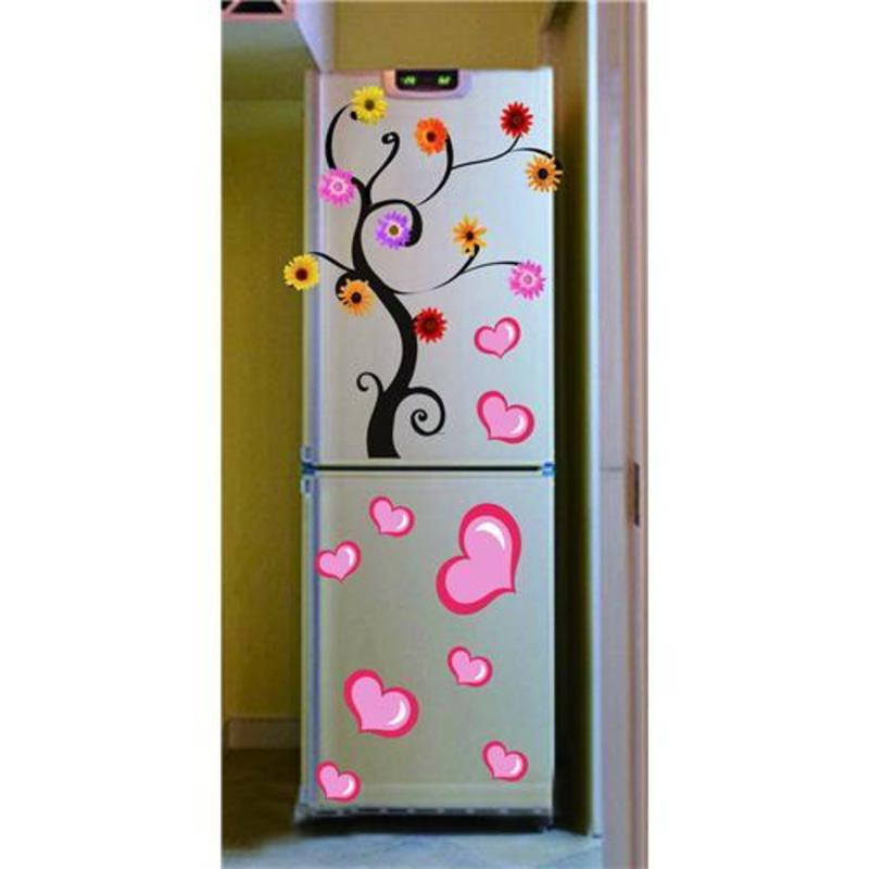 Refrigerator decoration sticker design bookmark 6164 for Vinilos para neveras
