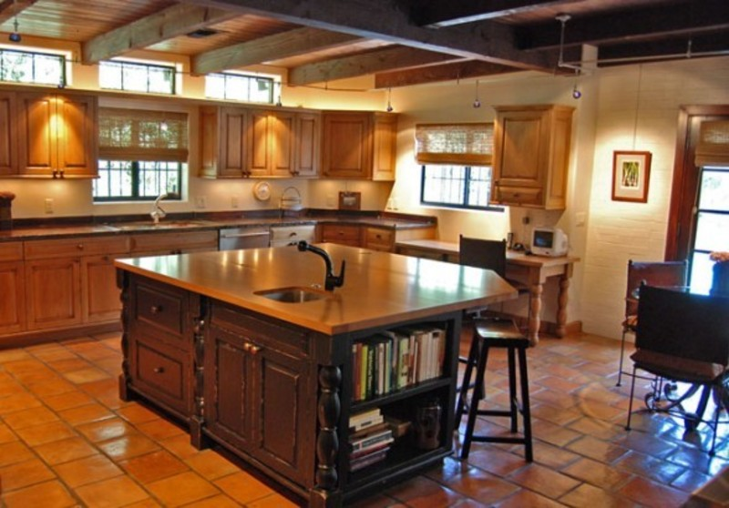 Country Kitchen Style For Modern House Country Home Design Ideas Spanish Influenced Modern Home In Arizona