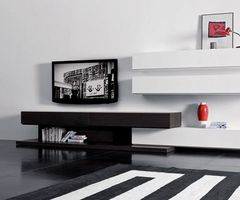 Modern Living Room Wall Mounted Cabinet and TV Stand, Sistema People by Pianca wall mounted TV unit combination with modular cabinet design – Home Design Inspiration