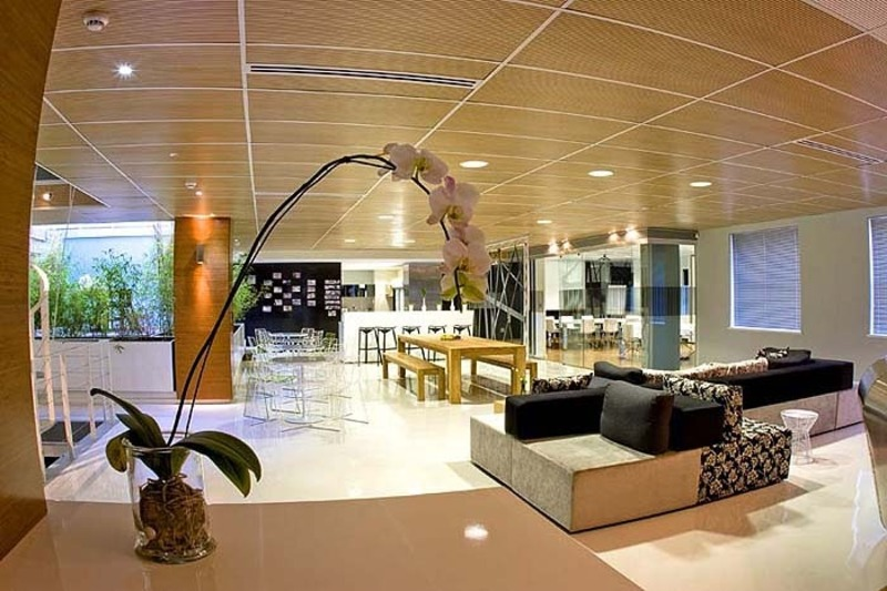 Office Waiting Room Design, Bright And Glamorous Of Office Interior In Cape Town