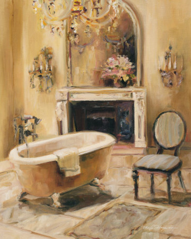 French bath i print by marilyn hageman at all posters com for A bathroom in french