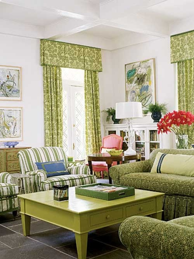 Wall paint design for living room room color ideas bedroom for Living room designs green