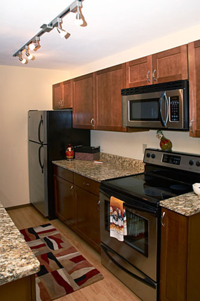 Small Condo Kitchen Heathercrest Condominium Community