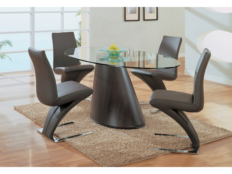 Contemporary and modern dining table glass and furniture for Modern dining table designs
