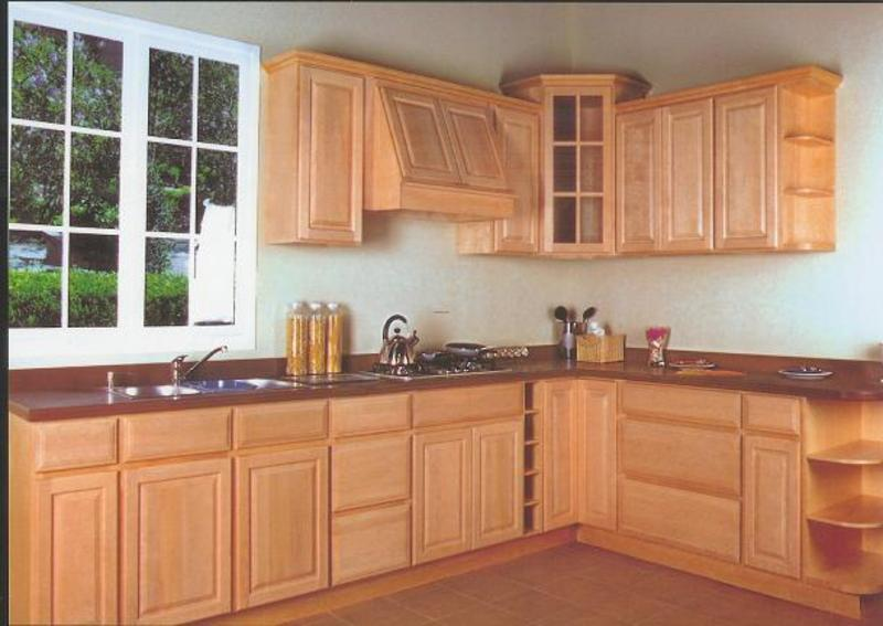Discount maple kitchen cabinets design bookmark 6425 for Bargain kitchen cabinets