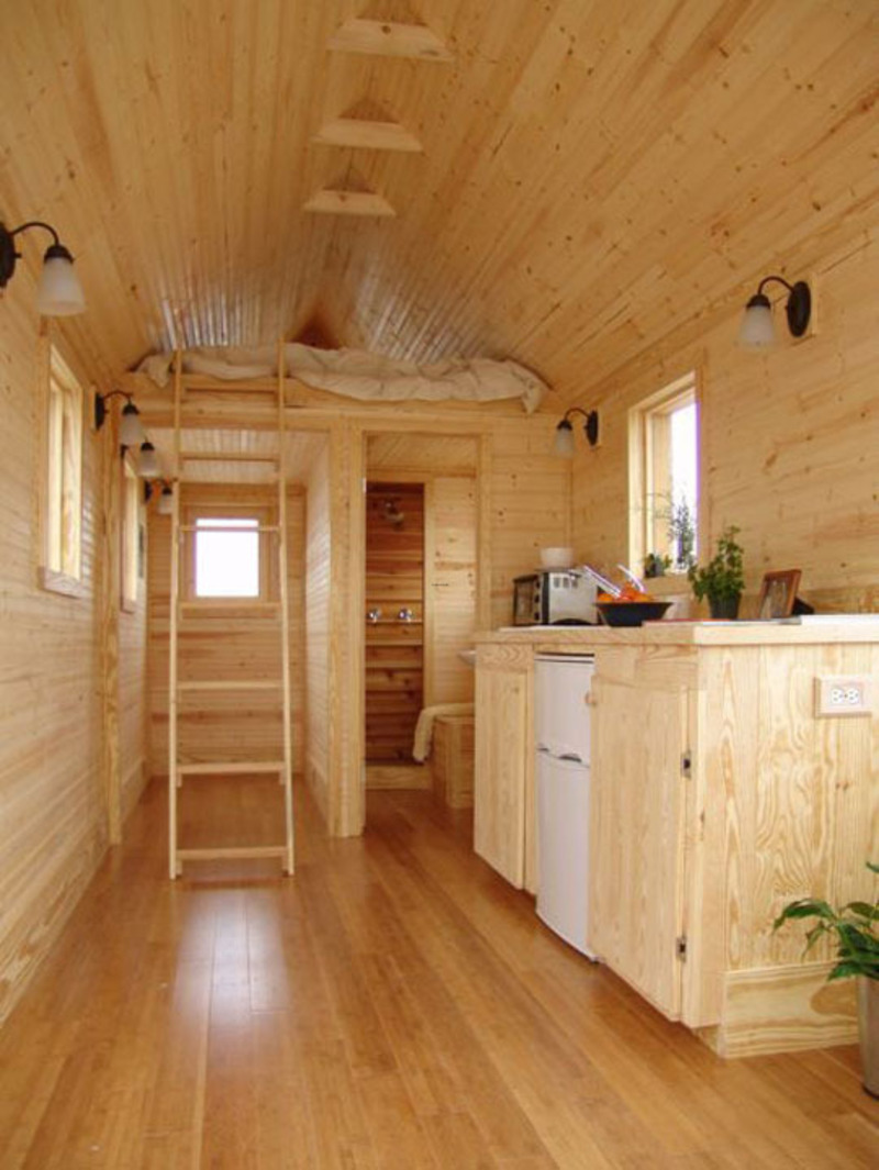 Small Home Ideas, Smallest Coolest House On Wheels: Martin House