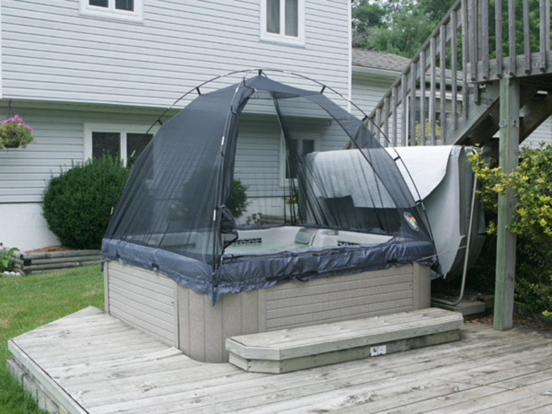 Hot Tub Enclosure, 