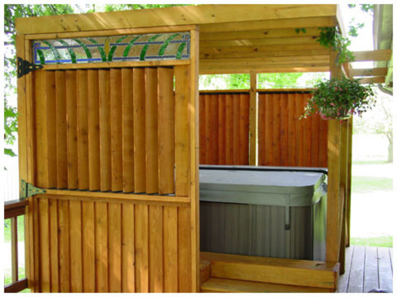 Flex Fence Louvered Hardware For Fences Decks Pergolas Hot Tub