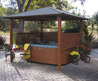 Spa Cafe Hot Tub Gazebo: Hot Tubs Clearance Sale :: Free Shipping on All Hot Tubs and Spas!