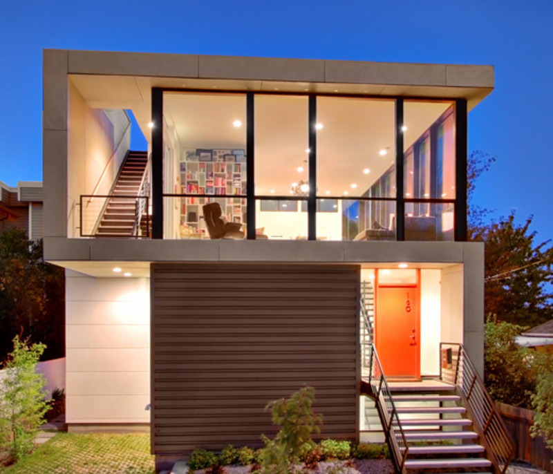 Home Design Ideas Architecture: Modern Small House Design Ideas A Tight Budget Crockett