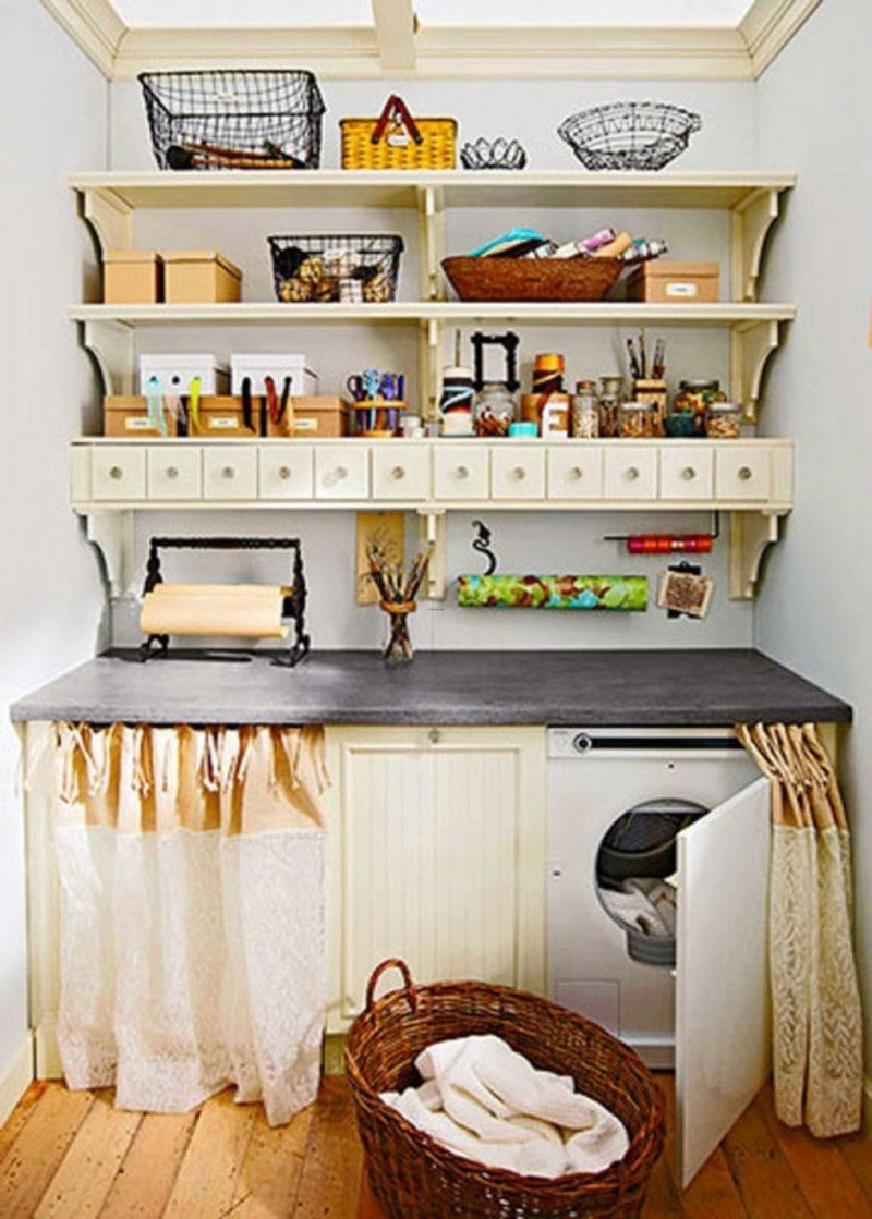 Small laundry room decorating ideas for home interior for Ideas for home