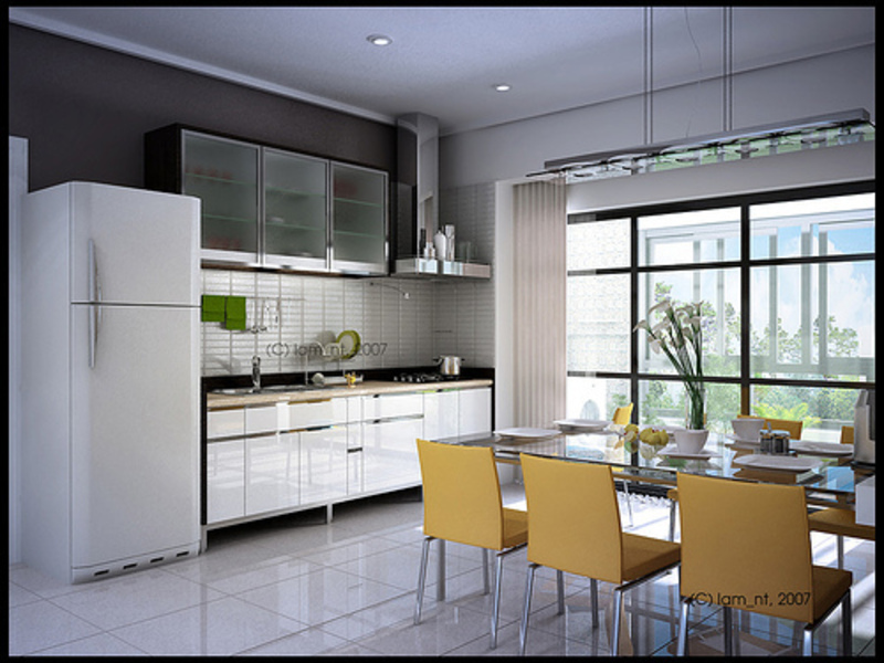 new technology and modern kitchen ideas for small kitchens