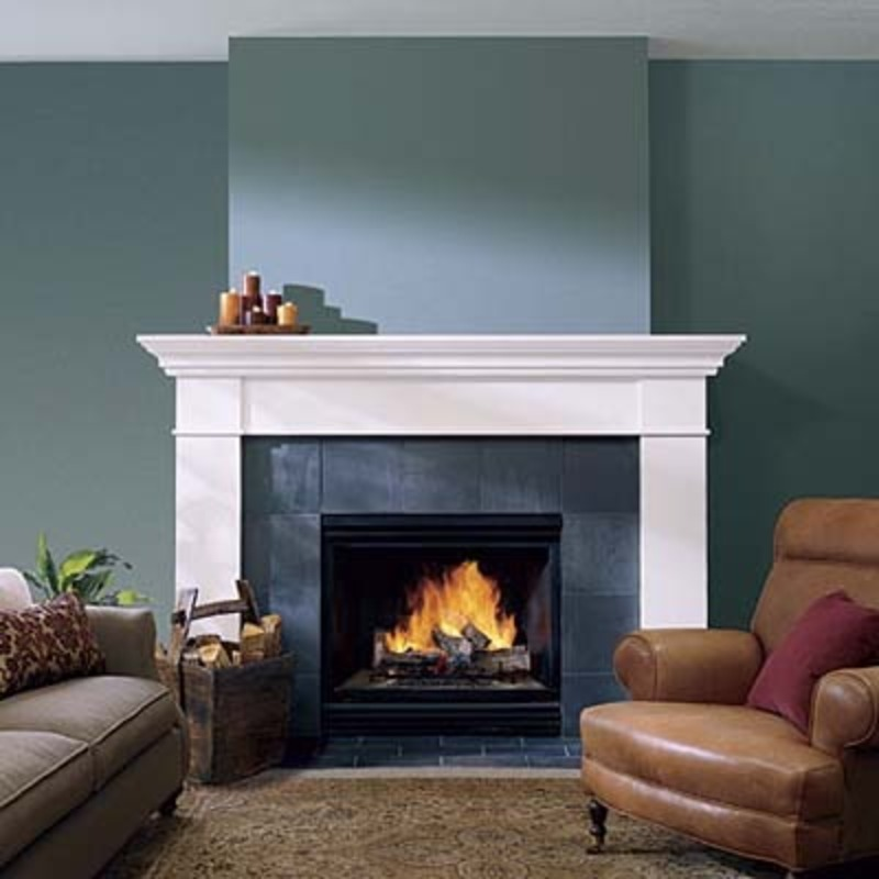 Fireplace Design Ideas Casual Cottage