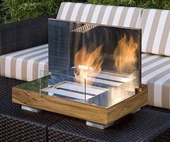 Small Patio Designs – Small Patio Ideas and Pictures Modern portable fireplace – Flavahome.com