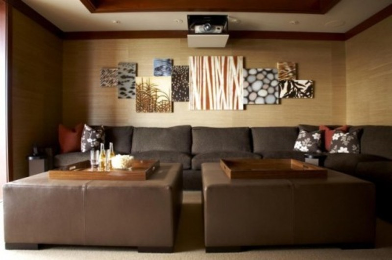 Asian Media Room Design Pictures Remodel Decor And