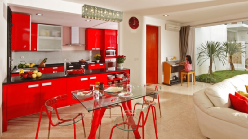 Very Colorful Amazing Red Kitchen Decor Ideas Design