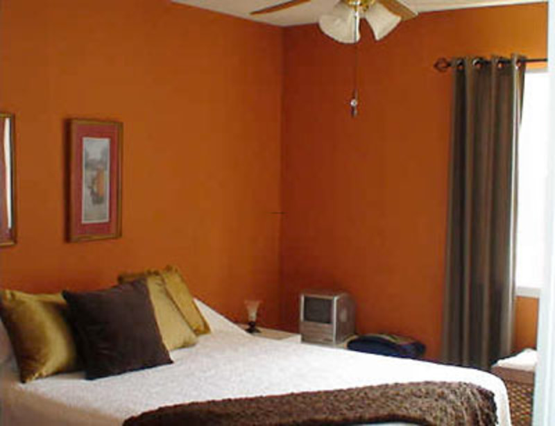 orange colour selection bedroom ideas interior design