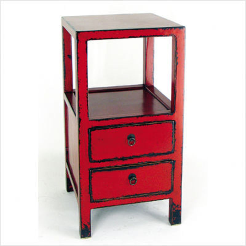 red distressed furniture distressed red furniture
