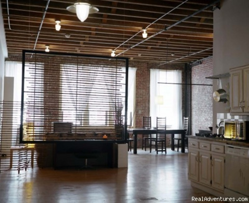 Fully furnished landmark lofts with internet design for New york loft apartments