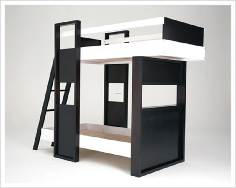 Bunk beds modern design bookmark 7035 for Modern loft bedroom