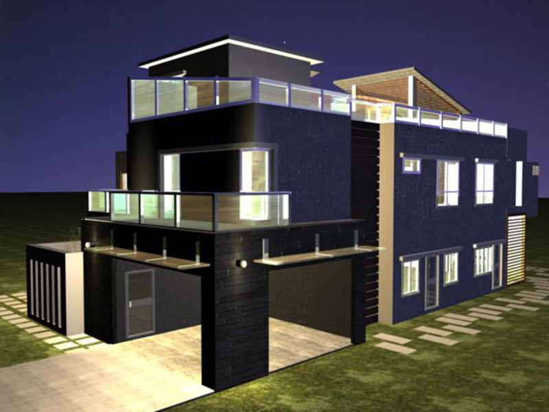 The Best Picture 3 D Beautiful House Plans For Banglows / design ...