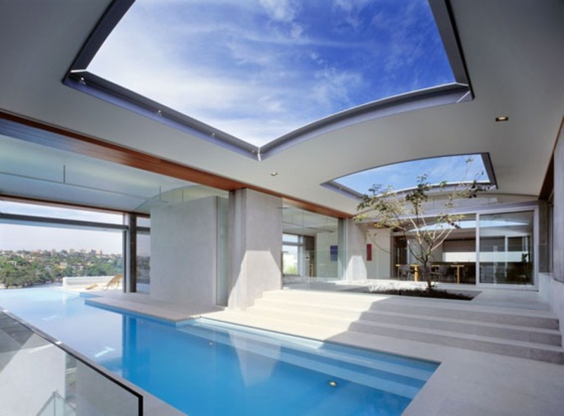 Luxury ocean view house in sydney australia design for Best house with swimming pool