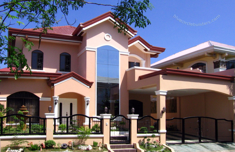 Residential home design construction cost estimate bulacan Residential design