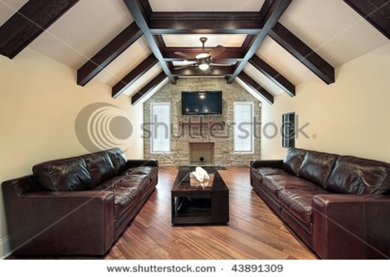 Beam Ceilings Photos Ceiling Beams Stock Photo