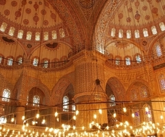Some beautiful pictures of the interior of mosques by MuslimWorker