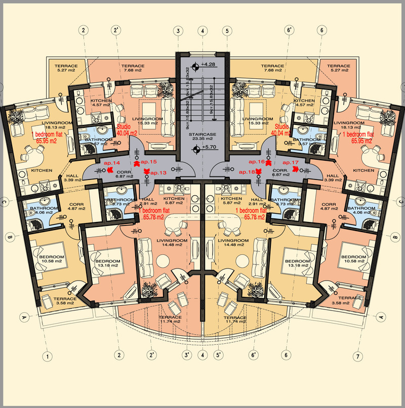 one room apartment floor plan studio apartment floor plans