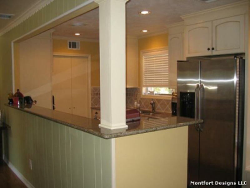How to organize a galley kitchen for Small galley kitchen designs
