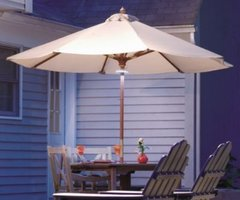 Patio Umbrella Lights Make the Difference — Patio Lights