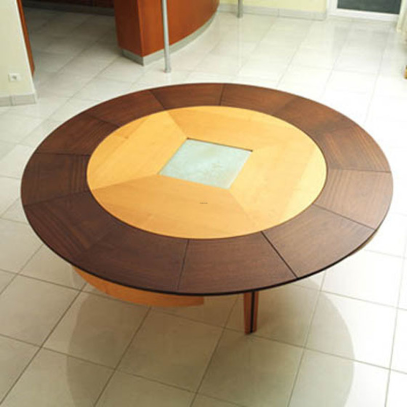 Round Table Design, Contemporary Round Table Design by Phillippe Braun