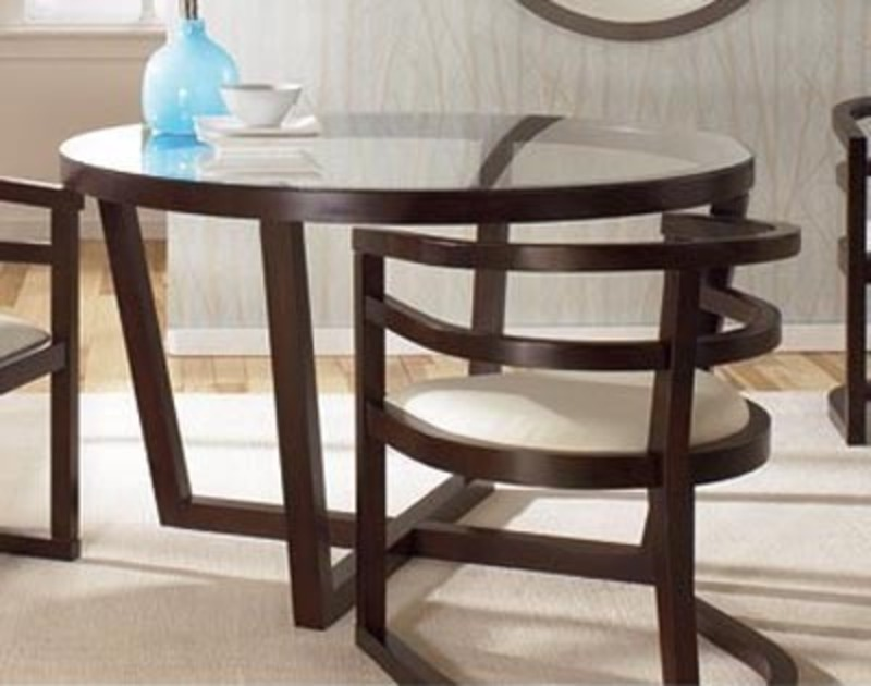 Contemporary Furniture Images, Abigail Round Dining Room Table, Contemporary Furniture Brands
